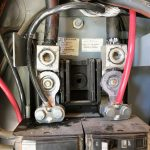 Main Electrical Service With Battery Cables