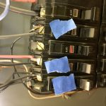 Seven Wires On 3 Breakers - FAIL